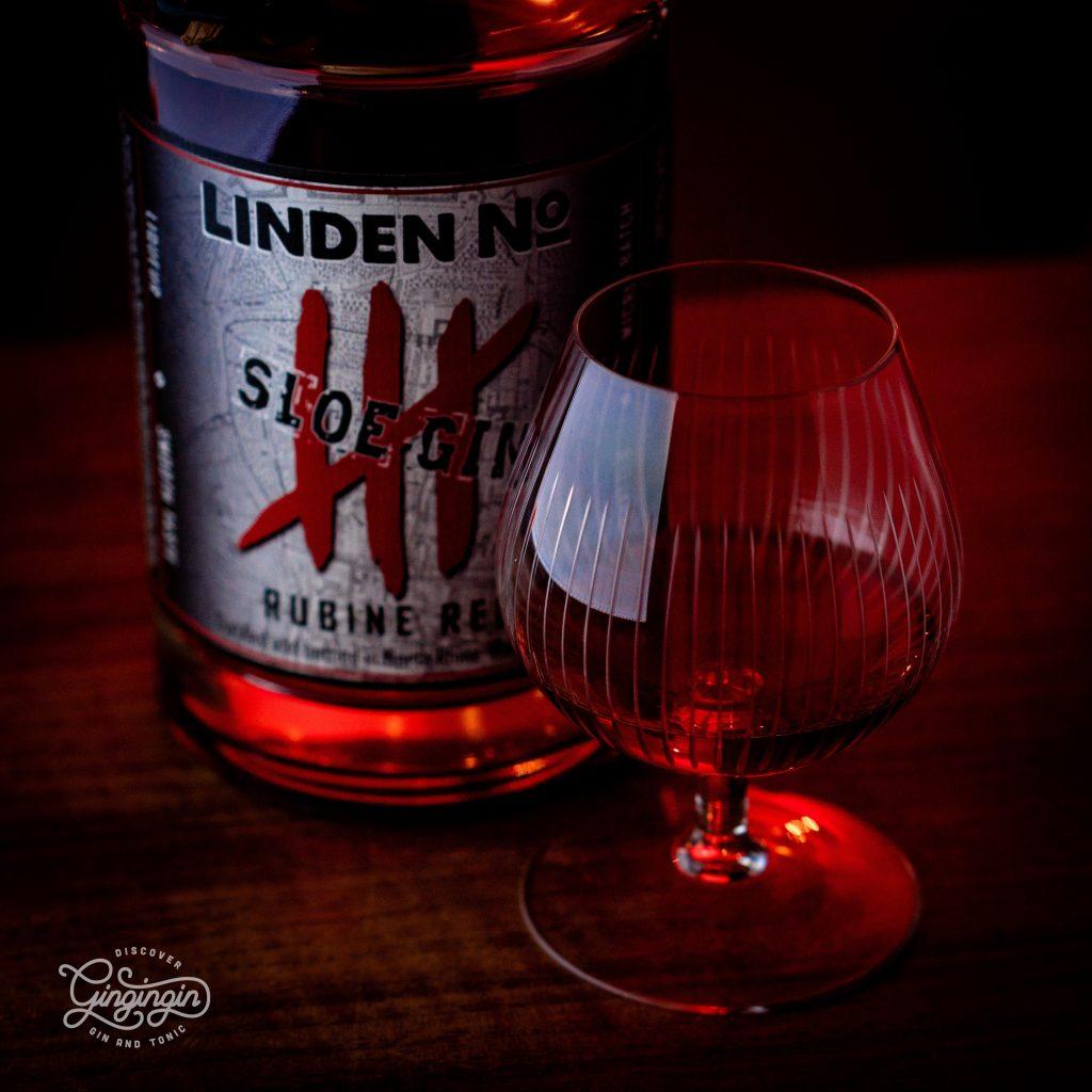 Linden No. 4 Sloe Gin Rubine Red